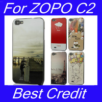 free shipping Screen protector Nillkin Super Shield Hard Back Case For ZOPO C2 phone in stock