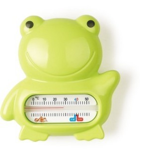 Rikang baby supplies baby supplies frog room temperature meter baby water meter rk-3741(China (Mainland))