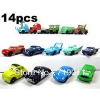 "FS cosplay cars 1 Set PVC Figure 2"" Collection 14PCS Moveable Mini Cute Toys"