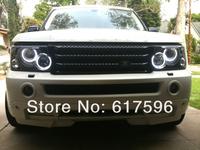 Super Bright CCFL Angel EyesHalo Rings For Land Lover Range Rover Hse Model 03-06 CCFL Angel Eyes Kit Free Shipping