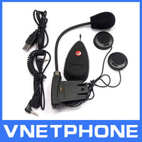 wireless motorcycle helmet headset,bluetooth,intercom,music play vnetphone DK118-100B interphone