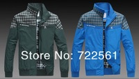 2013 men's new men's thin jacket collar leisure jacket Korean version of the Spring and Autumn