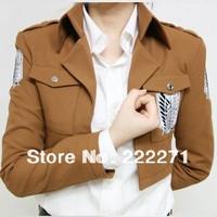 Shingeki no Kyojin Attack on Titan Scouting Legion Cosplay Costume Jacket  Free Shipping