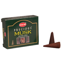 Free shipping Indian incense hem muskiest musk fragrant incense at home cone 10