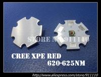 10pcs US Original Cree XPE Red Led 620-625nm on 20mm Star