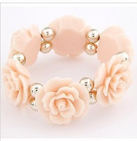Elegant chrysanthemum aestheticism article flexible bangle ! Min order $10 is Free shipping         B5073