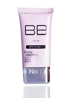 2013  New arrival Wholesale color box mineral BB Cream SPF35 PA+++40ml, 3 colors for choise, 12pcs/lot, free shipping