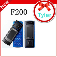 Original Unlock Phone Rotatable Phone samsung F200 with Bluetooth MP3 ,Free shipping