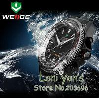 2014 WEIDE  Watches Men Liminous Hands Waterproof Day Shock Resistance Watch Dive Wristwatch