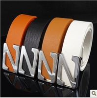 Free Shipping Male fashion strap z buckle belt male men's women's paragraph the trend of casual pants belt