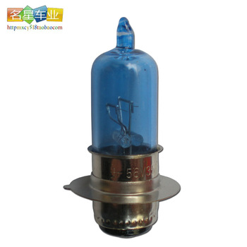 48v electric bicycle bulb car battery light bulb 56v25w belt wheel double-filament vacuum blue bulb big bulb