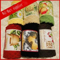 Free shipping 100% cotton towel Wal-mart supplier  40*66cm