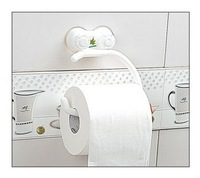 Toilet paper holder box paper towel holder bathroom plastic suction cup roll holder toilet paper box toilet paper holder