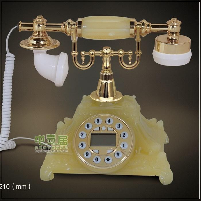 Bell antique telephone fashion antique telephone technology gift telephone - jade a01 phone#(China (Mainland))