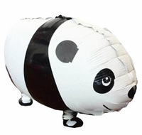 Free Shipping 10PCS/LOT panda Walking Pet Balloons 100%Good Quality CE APPROVED