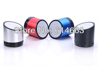 Free Shipping 2013 hot sales mini portable wireless bluetooth speakers Support TF Card for iphone,ipad ,cellphone,etc.