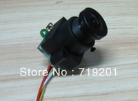 Free shipping ,520TVL Mini Camera (0.008Lux,10~120 degree view angle) MC495A--with audio