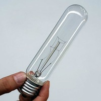 Test Tube Art light bulb, retro Edison lamp E27,tungsten lamp,1 LOT FREE SHIPPING 110V/220V