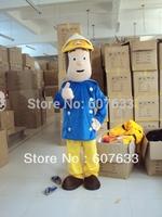 Fireman Sam Mascot Costume Adult Fun Character Costume Free Shipping EPE