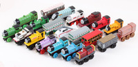 4PCS  thomas wooden toys jackknifed compatible with wooden