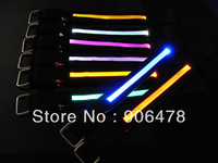 Wholesale 50Pcs/Lot Black Band LED Bicycle Safety Arm bands Flashing Arm/Leg Bands Free Shipping