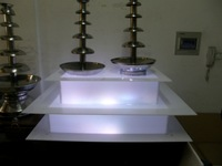 different size   Chocolate Fountain LED Base