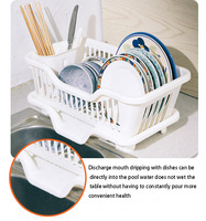 Storage racks drip bowls chopsticks tableware cage drain rack dish rack dish rack dishes stand-off loss