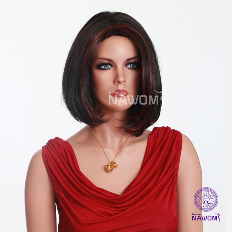 Black Halloween Wig
