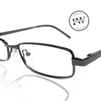 Facewear glasses high nickel myopia metal glasses commercial Men brief eyeglasses frame