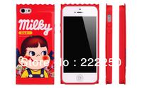 New Japanese Peko Sweets TPU kawaii Milky Case Skin Cover for Apple iPhone 5 5G