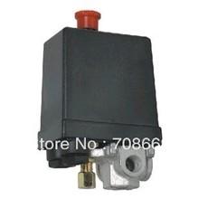 AC 230V 16A 4 Ports Control Valve Air Compressor Pressure Switch(China (Mainland))