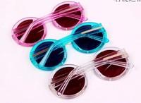 new Men women Karen Karen walker 1301489 round box jelly sunglasses sunglasses female