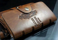 Best seller!2013 Bailini new stylish Men wallet+genuine cow Leather +Pockets RFID Card Clutch Cente Bifold Purse free shipping