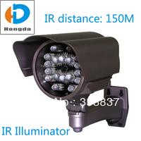 IR Illuminator 18pcs D10-24U IR LED High Power 15W IR Distance 150M for Security CCTV Camera fill Infrared light Gray Free ship
