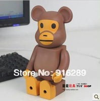 Bearbrick Be@ebrick Monkey Style 400% 28CM Size Decoration Doll Toy Birthday Gift