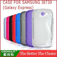 Free shipping 1PCS 100% Original PC CASE FOR SAMSUNG I8730 (Galaxy Express) New Arrivel Shimizu S-style case