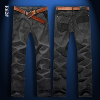 free shipping! 2013 hot sales men's brand jeans, 8size choice, men's  leisure, sports and work jeans, value for you money.
