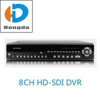 H.264 Full HD Real-Time 8CH HD SDI DVR Digital video recorder 1080P HDMI VGA BNC Output for security cctv sdi camera Free ship