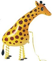 Free Shipping 10PCS/LOT giraffe Walking Pet Balloons 100%Good Quality CE APPROVED