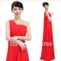 A toast to the bride dress fashionable dress hotel banquet hosted evening wear long