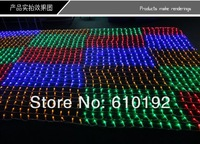 Free Shipping Festival Decoration Garden Christmas Party Christmas 1.5X1.5M LED Net String Light curtain lamp 120pcs LED lights
