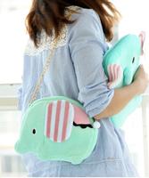 Circus cartoon plush circleof doll tote bag messenger bag shoulder bag girls