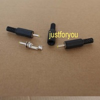 10 pcs pieces Male DC Power Tip Inlet Laptop Jack Plug Connector ID 0.7mm OD 2.5mm 2.5 / 0.7 mm