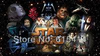 "24 Star Wars classic movie 42""x24"" Inch Wallpapr Sticker Poster"