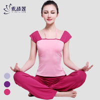 2013 summer yoga clothes female set yoga clothing short-sleeve workout clothes