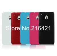 20PCS New Rubber Back Hard Case Skin Protective Cover Shell for HTC ONE Mini M4 Mix Color Perfect Fit Free Shipping
