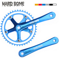 Hardbone space vehicles crankset full aluminum alloy cnc 6 vitality multi-colored