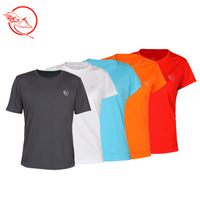 Wolf Quick drying T-Shirts quick-drying outdoor sports t-shirt / short sleeve quick-drying T-shirt / T shirt men and women