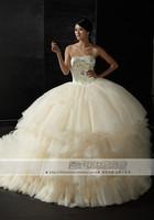free shipping Royal wedding gauze 2013 luxury crystal hip long formal puff skirt bandage peacock wedding dresses with feathers