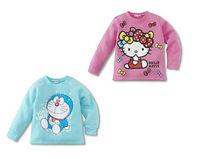 boys girls children t shirt fit 1-5yrs baby kids tee shirt cotton cartoon kids clothing 10pcs/lot 2 color 5 size free shipping